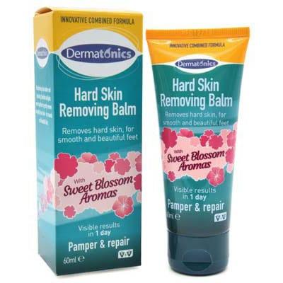 Hard skin removing balm voetverzorging